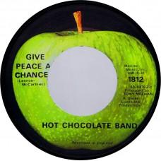 Apple 1812 HOT CHOCOLATE Give Peace A Chance / Living Withot Tomorrow USA 45