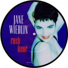 "JANE WIEDLIN Rush Hour / The End Of Love (EMI MTP 36) UK 1988 7""picture Disc 45"