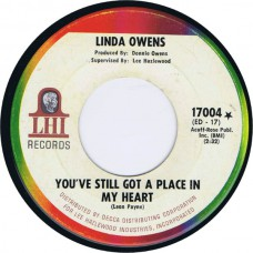 LINDA OWENS You've Still Got A Place In My Heart / One Night Stand (LHI Records 17004) USA 1967 45 (Lee Hazlewood)