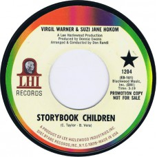 VIRGIL WARNER & SUZI JANE HOKOM Love Storybook Children / Lady Bird (LHI 1204) USA 1968 promo 45 (Lee Hazlewood)