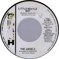 ANGELS Little Beatle Boy / Java (Smash 1885) USA 1964 promo 45
