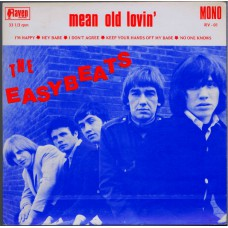 "EASYBEATS Mean Old Lovin' 7"" 6-track EP (Raven RV-01) Australia 1979 PS EP of 1965 recordings"