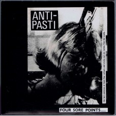 ANTI-PASTI Four Sore Points E.P. (Rondelet Music and Records ROUND 2) UK 1980 PS EP