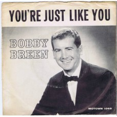 BOBBY BREEN - Here Come That Heartache / You're Just Like You (Motown 1059) USA 1964 Promo PS 45
