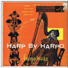 """HARPO MARX Harp By Harpo (RCA Victor EPA 329) USA 1952 7"""" PS EP"""