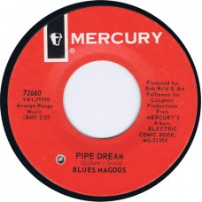 BLUES MAGOOS Pipe Dream / There's A Chance We Can Make It (Mercury 72660) USA 1967 45