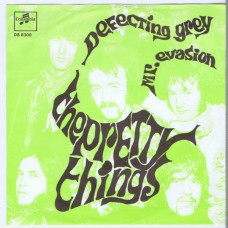 PRETTY THINGS Defecting Grey / Mr. Evasion (Columbia DB 8300) Holland 1967 PS 45