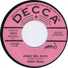 BOBBY HELMS Jingle Bell Rock / Captain Santa Claus (Decca 30513) USA 1957 45