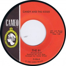 CANDY AND THE KISSES The 81 /  Two Happy People (Cameo C-336) USA 1964 PS 45