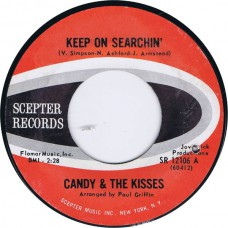 CANDY AND THE KISSES Keep On Searchin' / Together (Scepter SR 12106) USA 1965 45