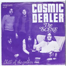 COSMIC DEALER The Scene / Child Of The Golden Sun (Negram NG 223) Holland 1971 PS 45