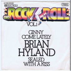 BRIAN HYLAND Ginny Come Lately / Sealed With A Kiss (Probe 006-95 255) Germany 1973 PS 45