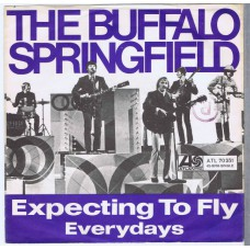 BUFFALO SPRINGFIELD Expecting To Fly / Everydays (Atlantic 70251) Germany 1968 PS 45