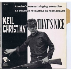 NEIL CHRISTIAN That's Nice / I Like It (Riviera 121061) France 1966 PS 45 (Jimmy Page)