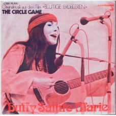 BUFFY SAINTE-MARIE The Circle Game (Vanguard 91932) Germany 1967 PS 45