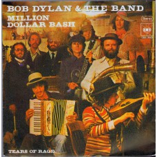 BOB DYLAN & THE BAND Million Dollar Bash (CBS 3665) Germany 1976 promo PS 45