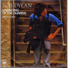 BOB DYLAN Changing Of The Guards (CBS 6559) Germany 1978 PS 45