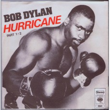 BOB DYLAN Hurricane Part 1+2 (CBS 3841) Germany 1975 PS 45