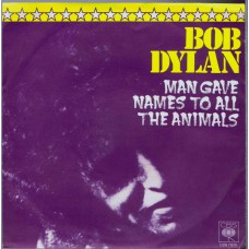 BOB DYLAN Man Gave Names To All The Animals (CBS 7970) Germany 1979 promo PS 45