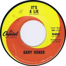 GARY USHER Jody / It's A Lie (Capitol 5403) USA 1965 cs 45