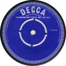 LOUISE CORDET I'm Just A Baby / In A Matter Of Moments (Decca no number (F 11476)) UK 1962 Demo 45