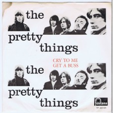 PRETTY THINGS Cry To Me / Get A Buss (Fontana 267471) Holland 1965 PS 45 (Mispelled)