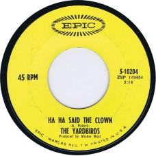 YARDBIRDS Ha Ha Said The Clown / Tinker, Tailor, Soldier, Sailor (Epic 5-10204) USA 1967 45