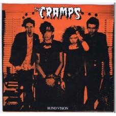 "CRAMPS Blind Vision (I.R.S.TIBLE no #) UK 1982 7"" PS EP"
