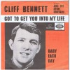 CLIFF BENNETT & THE REBEL ROUSERS Got To Get You Into My Life / Baby Each Day (Parlophone R 5489) Holland 1966 PS 45