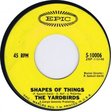 YARDBIRDS Shapes Of Things / New York City Blues (Epic 5-10006) USA 1966 45