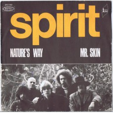 SPIRIT Nature's Way / Mr. Skin (Epic EPC 7082) France 1971 PS 45