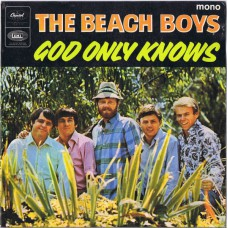 BEACH BOYS God Only Knows / Here Today / Sloop John B. / Wouldn't it Be Nice (CapitolEAP-6 2458) UK 1966 PS EP