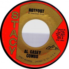 Stacy 925 AL CASEY Hotfoot / Cookin' USA 1962 45 (Hazlewood)