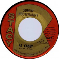Stacy 962 AL CASEY With The K-C-ETTES Surfin' Hootenanny USA 1963 45 (Hazlewood)