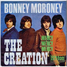 CREATION Bonney Moroney (Hit-ton 300210) Germany 1968 PS 45 (Ron Wood)