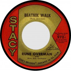 Stacy 970 RUNE OVERMAN Beatnik Walk / Smorgasbord USA 1963 45 (Hazlewood)