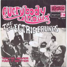 ELECTRIC PRUNES Everybody Knows You're Not In Love / You've Never Had It Better (Reprise RV 20149) France 1968 PS 45