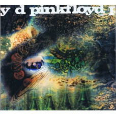 PINK FLOYD Saucerful Of Secrets (Columbia SX 6258) UK mono reissue LP (Red Vinyl)