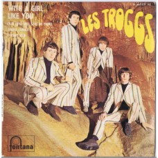 TROGGS With A Girl Like You / Our Love Will Still Be There / Jingle Jangle / I Want You (Fontana 465 321 ME) France 1966 PS EP
