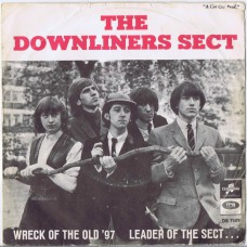DOWNLINERS SECT Wreck Of The Old '97 / Leader Of The Sect (Columbia DB 7509) Sweden 1965 PS 45