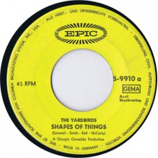 YARDBIRDS Shapes Of Things / Pafff.... Bum (Epic 5-9910) Germany 1966 45