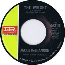 JACKIE DESHANNON The Weight / Effervescent Blue (Imperial 66313) USA 1968 45