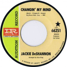 JACKIE DESHANNON Changin' My Mind / It's All In The Game (Imperial 66251) USA 1967 PROMO 45