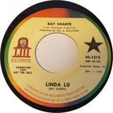 RAY SHARPE Linda Lu / Monkey's Uncle (LHI Records 45-1215) USA 1968 45