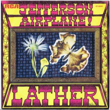 JEFFERSON AIRPLANE Lather / Crown Of Creation (RCA 9644) Germany 1968 PS 45