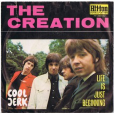 CREATION Cool Jerk / Life Is Just Beginning (Hit-ton HT 300152) Germany 1967 PS 45