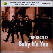 """BEATLES Baby It's You +3 (Apple 882073-7) UK 1995 7"""" EP"""
