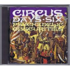 Various CIRCUS DAYS Nr.06 (Strange Things STCD 10007) UK 1992 CD