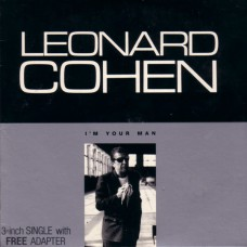 "LEONARD COHEN I'm Your Man (CBS 5099765152227) UK 1988 3"" Single CD with Adapter"