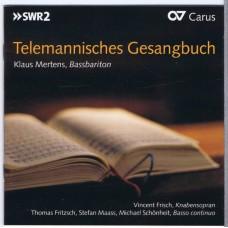 Various Chorals TELEMANNISCHES GESANGBUCH Thomas Fritsch, Klaus Mertens, Stefan Mass, a.o. (Carus 83340) Germany 2013 CD